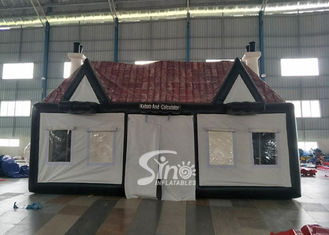 custom made big portable inflatable Irish pub with lead free material from China inflatable pub company